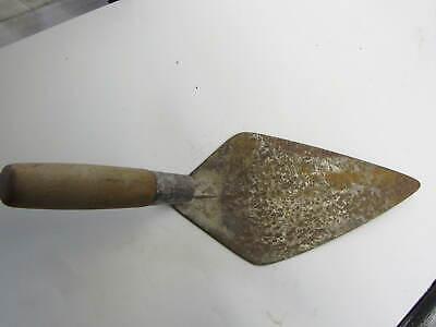 Vintage Marshalltown 10 Cement Hand Trowel Wood Handle 5 Wide