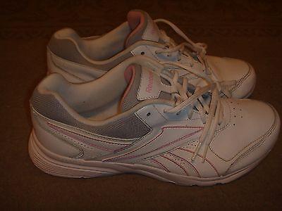Reebok Dmx Ride White/Gray/Pink Womens Size 10