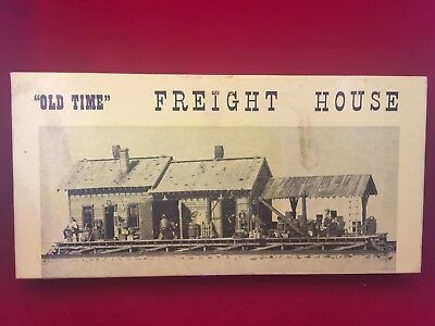 Fine Scale Miniatures Kit #150 Old Time Freight House NOS NIOB HO Scale