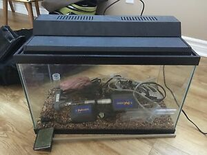 Fish tank with all accessories & pump