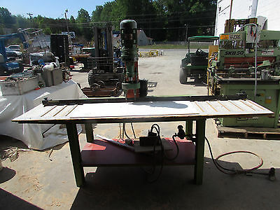 Rye 1.5 Hp Vertical Drill Head W Dual Spindle Attachment On Table  Xlnt