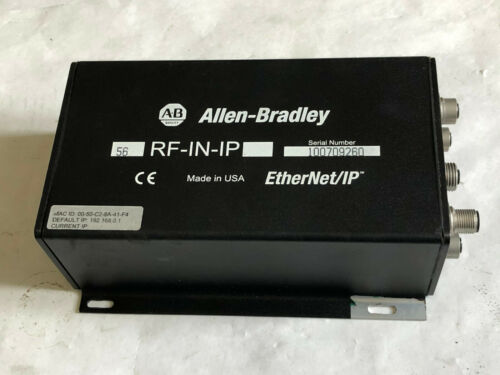 ALLEN BRADLEY 56RF-IN-IP HIGH-FREQUENCY RFID TRANSCEIVER ETHERNET/IP,CF