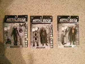 Metal Gear Solid action figures x3 Australia Preview