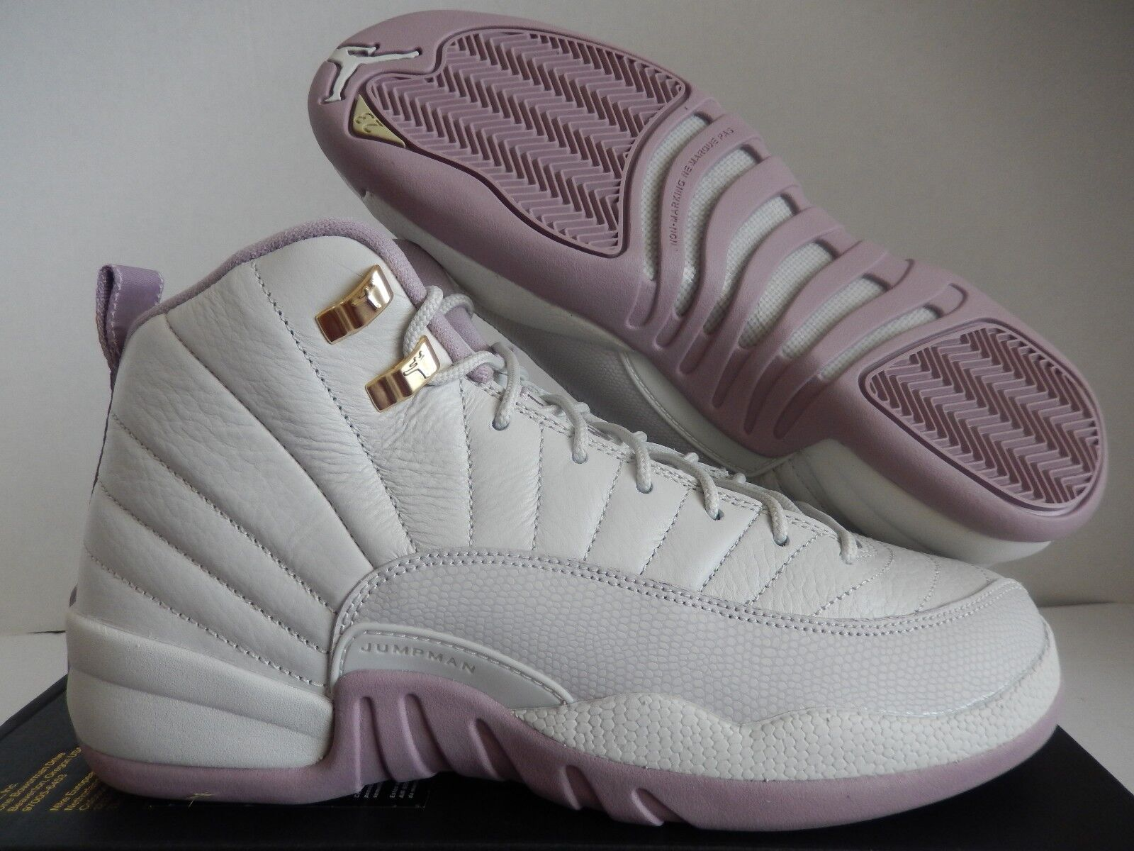 wholesale dealer deb84 490fa NIKE AIR JORDAN 12 RETRO PREMIUM HC GG HEIRESS SZ 9Y-MENS SZ 9 [845028-025]