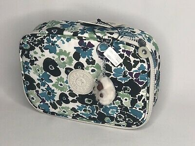 Kipling 100 Pens / Pencil Case Pouch Pens Print Field Floral New