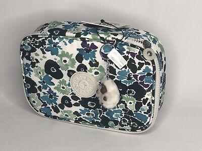 Kipling 100 Pens / Pencil Case Pouch Pens Print Field Floral New