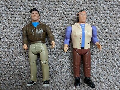 Vintage A-Team characters