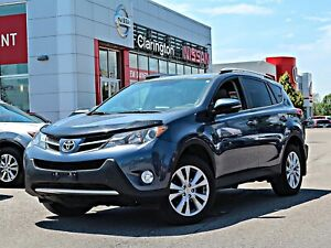 2014 Toyota RAV4 Limited AWD Leather Navi Sunroof FREE Delivery
