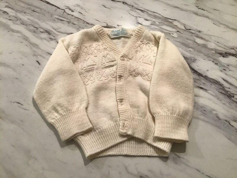 Vintage Infant Sweater 3-6 Months