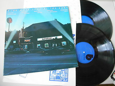 LP VA Blue Note Live At The Roxy (17 Song) BLUE NOTE REC - cut out -