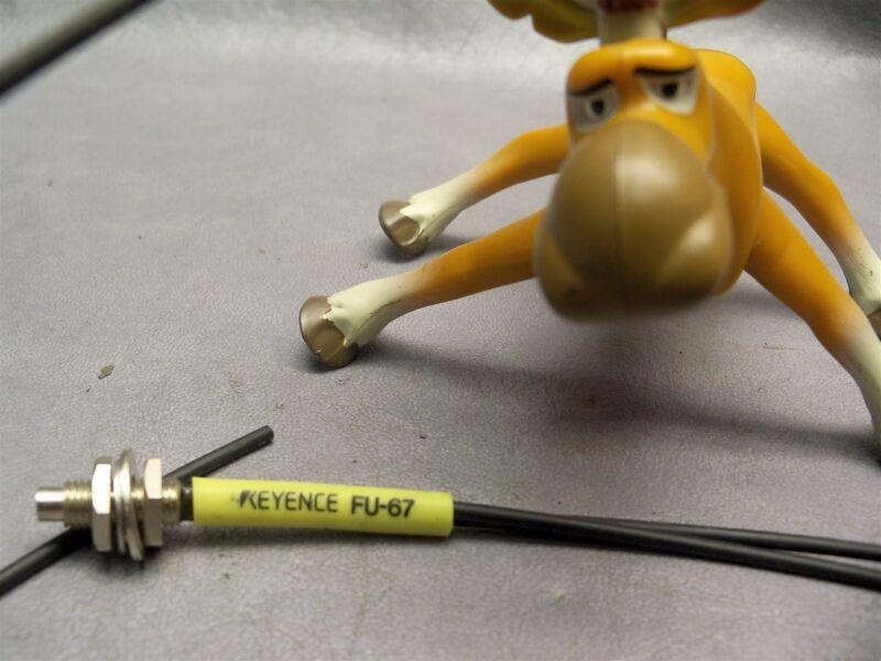 Keyence FU-67 Fiber Optic Sensor