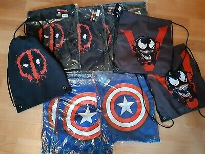 Deadpool, Captain America, Venom Marvel Rucksack Beutel