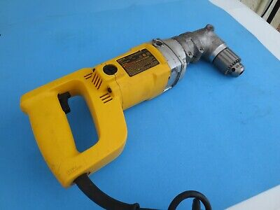 Dewalt Dw120 12 Right Angle Drill - 600 Rpm - Corded Ac 120v