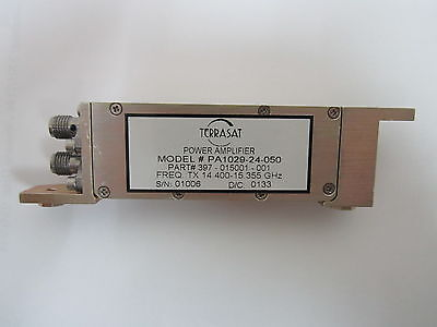 Terrasat Power Amplifiers 14.400-15.355ghz Pa1029-24-050 397-015001-001