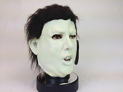 Michael Myers Halloween-kostüme (Donald Trump Michael Myers Halloween Latex Maske USA President Politiker Kostüm)