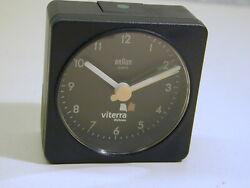 VINTAGE BRAUN ANALOG ALARM CLOCK  AB1A  original packed