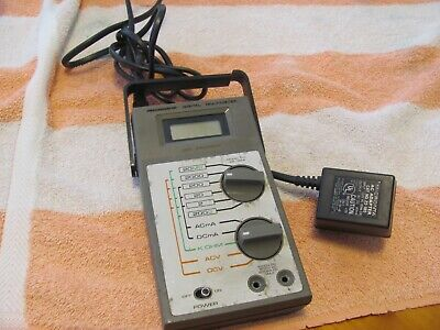 Radio Shack Micronta 22-198a Multimeter No Leads Or Cord