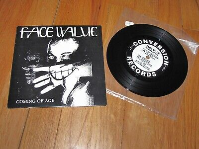 "FACE VALUE - COMING OF AGE - CONVERSION RECORDS 7"" SINGLE CLEVELAND  for sale  Shipping to India"