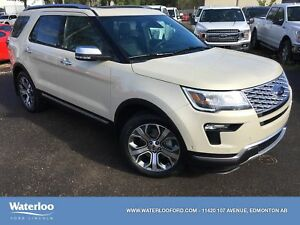 2018 Ford Explorer Platinum | Heated/Cooled Seats | Power Liftga