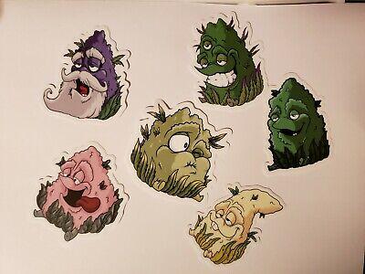 Best Buds Weed Cannabis Marijuana Stickers