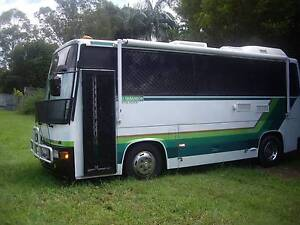 1988 HinoWIDE BODY RAINBOW BUS Mooloolaba Maroochydore Area Preview