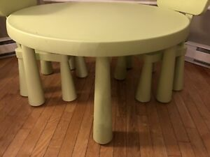 IKEA Kids Table with 2 Chairs