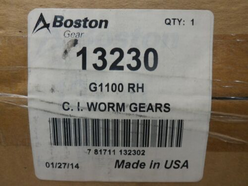 BOSTON 13230 G1100 RH C. I. WORM GEARS