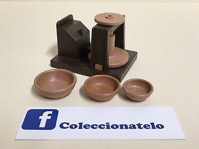 Playmobil TORNO DE ALFARERO - POTTER´S WHEEL Belen - Oficios 3455 -...