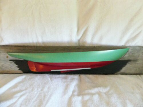 Vintage Half Hull Boat Model. THIS IS THE REAL ITEM! Very Collectible