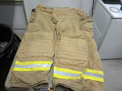 Size 58 X 29 Morning Pride Fire Fighter Turnout Pants - Vgc