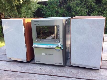 Panasonic bookshelf micro hi fi and DVD player Blackburn Whitehorse Area Preview