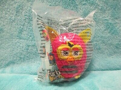 BNIP 2013 Hasbro Mcdonalds Happy Meal UK Furby Boom - Pink & Yellow Figure Toy