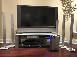 Sony Project 55 Inch TV, Sony Studio and Panasonic VCR
