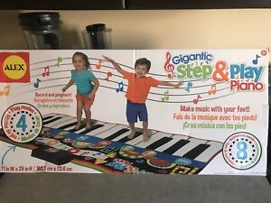 Brand New Step and Play Piano for Kids