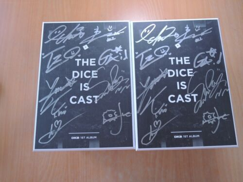 DKB - The dice is cast( 1st Album Promo) with Autographed (Signed)