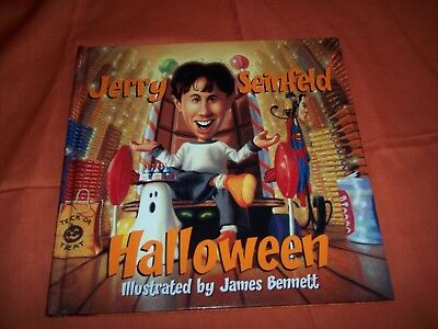 Jerry Seinfeld Halloween Book ~ 2002, Hardcover ~ First Edition ()