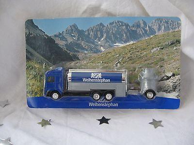 """Werbetankwagen """"Weihenstephan Blau"""" von Weihenstephan - NEU & OVP!!!"""