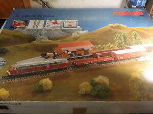 Märklin H0 Starterset 2985 Selten Eisenbahn Lokomotive Zug Waggon