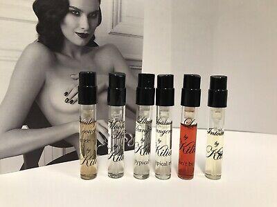Kilian discovery set 6 original spray vials: Love, Moonlight, Intoxicated, Voule