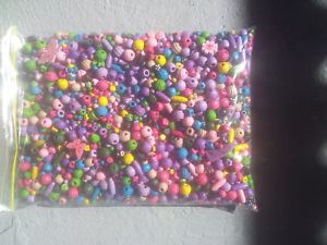 Large bag of beads and a second bag of necklaces, bangles and rin Old Reynella Morphett Vale Area Preview