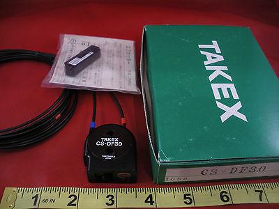 Takex Cs-df30 Fiber Optic Photo Sensor Csdf30 Takenaka Long Range Nib New