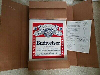 NOS Vintage Budweiser Large Six Pack Dangler Alcohol Promo Advertising