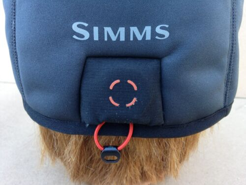 Simms Fly Fishing Guide Windbloc Beanie Raven New