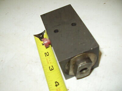 Hydraulic Flow Control Manifold Block 14npt Two Port Possibly A Kayba