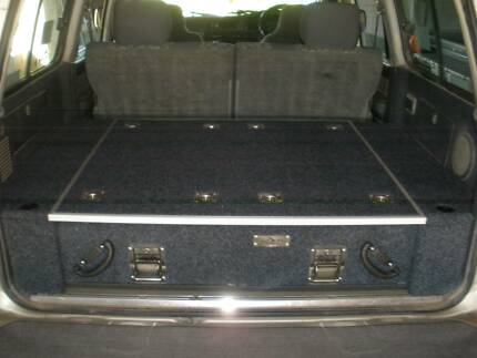 4X4 Drawer system, 80 series Landcruiser, very solid, smart look Moonee Beach Coffs Harbour City Preview