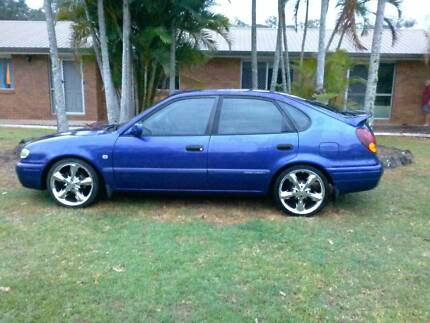 2000 Toyota Corolla Hatchback 5sp manual The Dawn Gympie Area Preview