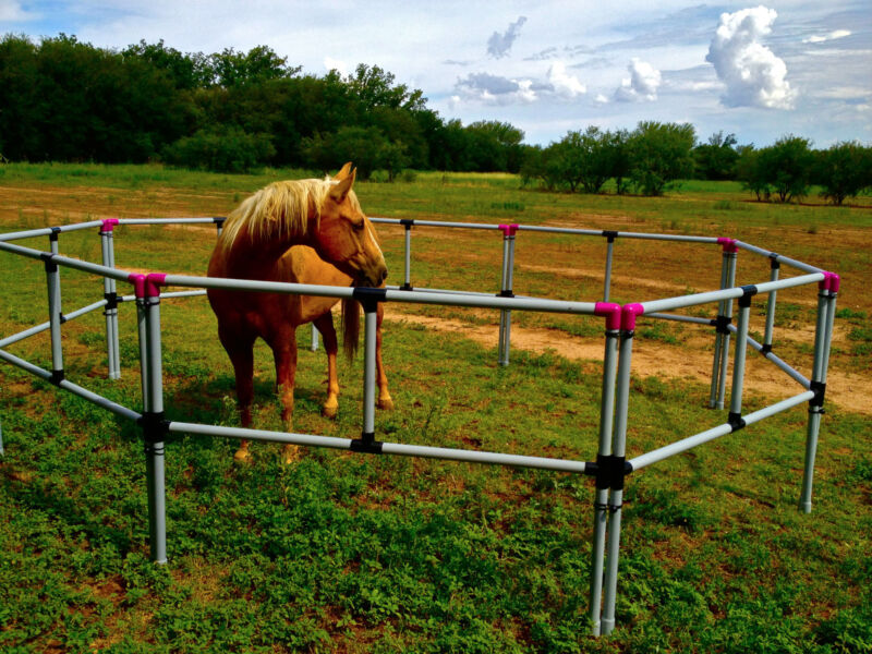 FREE SHIPPING! PORTABLE HORSE CORRAL  Corrals-Panels-Pens USA made! Box Set