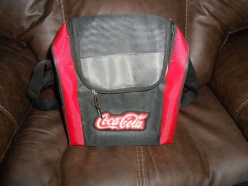 Coca Cola Insulated Bag Very Red Gray Black