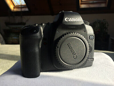 Canon EOS 5D Mark II 21.1MP Digital SLR Camera with Lens and Grip