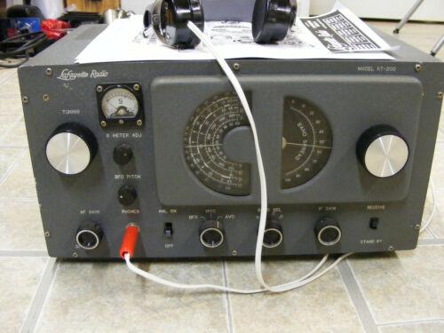 LAFAYETTE KT-200 SHORTWAVE RECEIVER